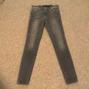 Gray Joe's Icon Skinny Jean Size 25
